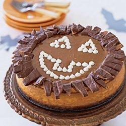 Pumpkin Toffee Crunch Cheesecake recipe