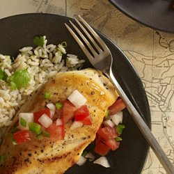 Sauteed Chicken Breasts with Pico de Gallo recipe