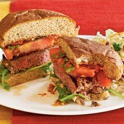 Lamb Burgers with Sun-Dried Tomato Aioli recipe