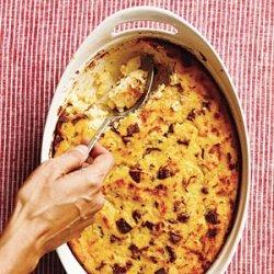 Sausage and Polenta Breakfast Casserole recipe