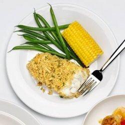 Crunchy Baked Fish Fillets recipe