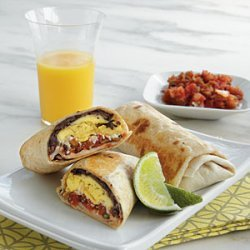 Mexican Breakfast Burritos recipe