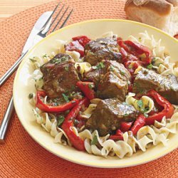 Beef Stew with Peppers recipe