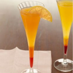 Passion Fruit Mimosas recipe
