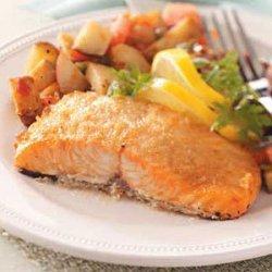 Baked Horseradish Salmon recipe