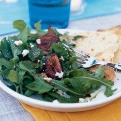 Roasted Fig and Arugula Salad recipe