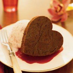 Romantic Brownie Sundaes recipe