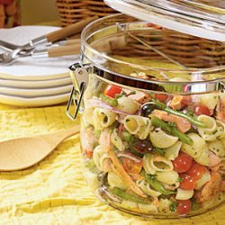 Salmon Niçoise Pasta Salad recipe