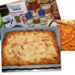 Baked Penne Rigate recipe