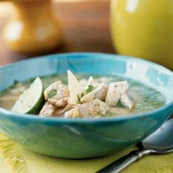 Chipotle Turkey and Corn Soup recipe