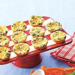 Cheesy Crustless Mini Quiches recipe