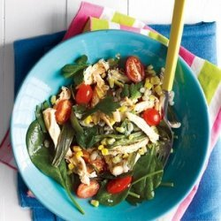 Barley Salad with Chicken and Corn recipe
