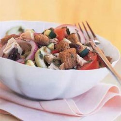 Vegetable Panzanella with Tuna recipe