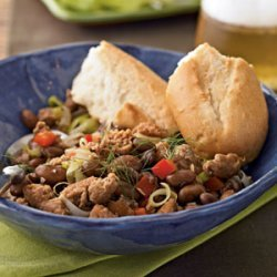 Cranberry Beans with Sausage and Fennel recipe