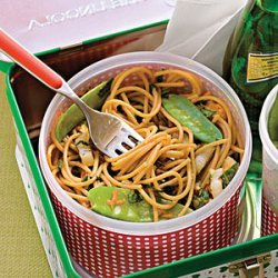 Sweet Chili-Lime Noodles With Vegetables recipe