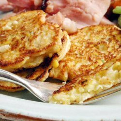 Corn and Parsnip Cakes recipe