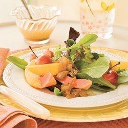 Sweet Onion 'n' Fruit Salad recipe