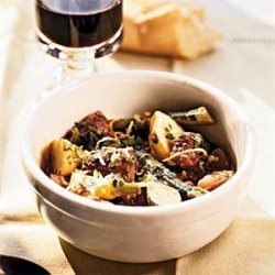 Lamb Stew with Early Spring Vegetables recipe