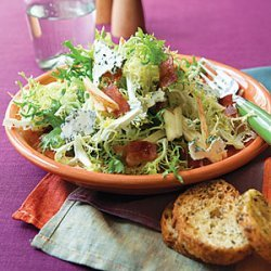 Frisée, Apple and Bacon Salad recipe