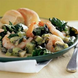 Shrimp and Kiwi Salad recipe