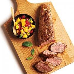 Pork Tenderloin with Mango Salsa recipe