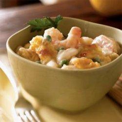Creamy Gruyère and Shrimp Pasta recipe