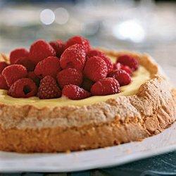 Lemon-Almond Cake with Lemon Curd Filling recipe