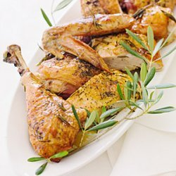 Roast Turkey with Wine and Herbs recipe