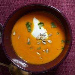 Sweet Carrot Soup recipe