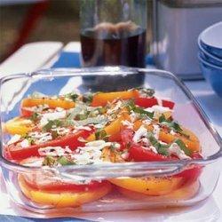 Tomato, Basil, and Fresh Mozzarella Salad recipe