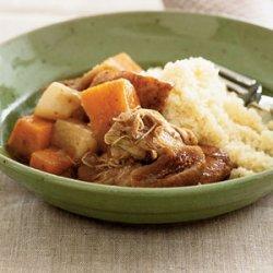 Chicken and Rutabaga Stew recipe