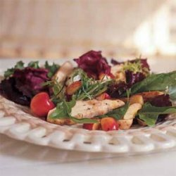 Grilled Chicken Salad With Cherries recipe