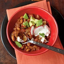 Beef and Pinto Bean Chili recipe