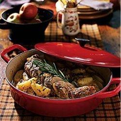 Rosemary Pork Tenderloin with Harvest Apples recipe