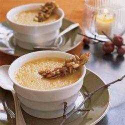 Pumpkin Chai Pots de Crème recipe