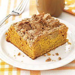 Pumpkin Crumb Coffee Cake recipe