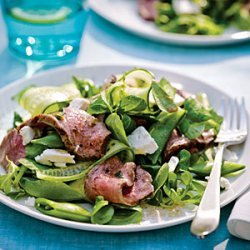 Grecian Steak Salad recipe