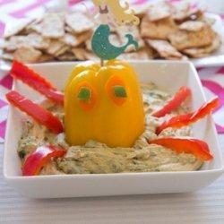 Octopus Edamame Hummus (for party) recipe