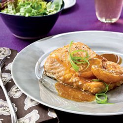 Salmon with Satsuma-Soy Glaze recipe