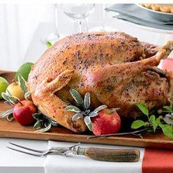 Roast Turkey with Sage Garlic Butter recipe