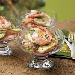 Marinated Lemon Shrimp and Artichokes recipe