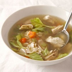 Chicken Stock and Chicken Noodle Soup recipe