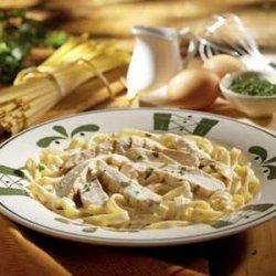 Chicken Alfredo recipe