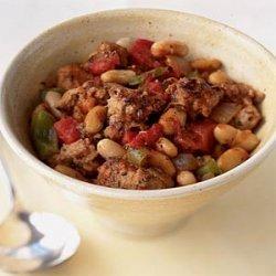 Italian Sausage and White Beans recipe