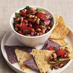 Black-Eyed Pea and Tomato Salsa recipe