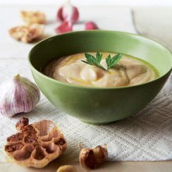 White Bean and Roasted Garlic Dip recipe