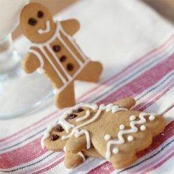 Gingerbread People Cookies recipe