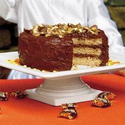 Heavenly Candy Bar Cake recipe