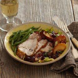 Pork Loin with Apple-Cranberry Chutney recipe