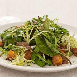 Butternut Squash Salad with Hazelnuts recipe